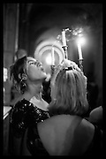 HANNAH R. HOPKINS; RACHEL-SCOFIELD-COHEN Ball at to celebrateBlanche Howard's 21st and  George Howard's 30th  birthday. Dress code: Black Tie with a touch of Surrealism. Castle Howard. Yorkshire. 14 November 2015