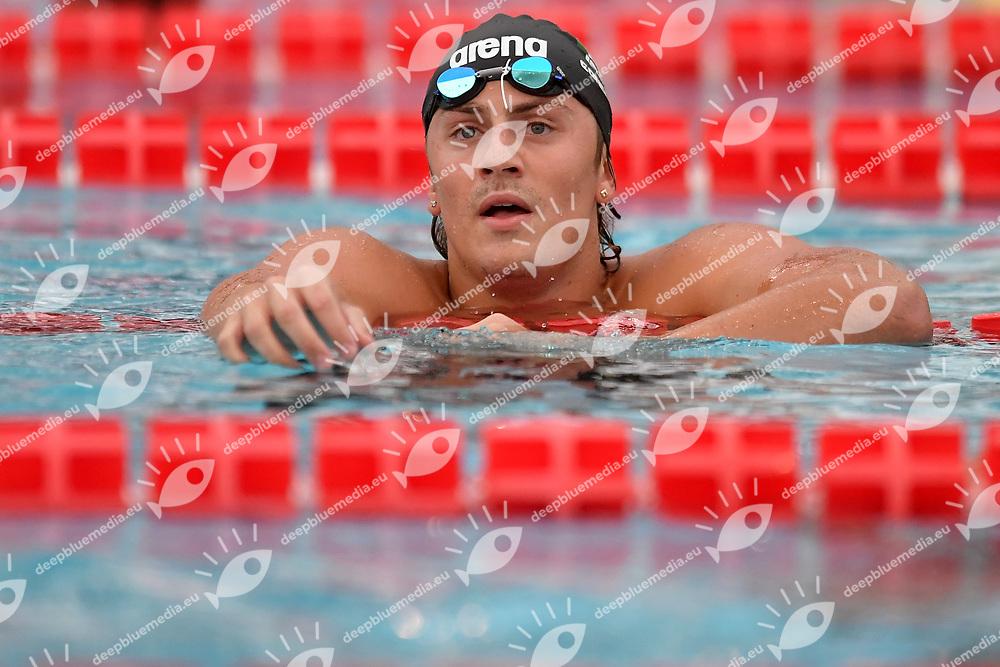MARTINENGHI Nicolo Fiamme Oro NC Brebbia<br /> 100m Breaststroke Men<br /> Roma 11/08/2020 Foro Italico <br /> FIN 57 Trofeo Sette Colli 2020 Internazionali d'Italia<br /> Photo Andrea Staccioli/DBM/Insidefoto