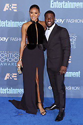 Eniko Parrish, Kevin Hart, The 22nd Annual Critics Choice Awards at Barker Hangar (Santa Monica, CA.)