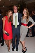 IRENE FORTE; MICHAEL WALKER; PETRA PALUMBO, The Cartier Chelsea Flower show dinner. Hurlingham club, London. 20 May 2013.