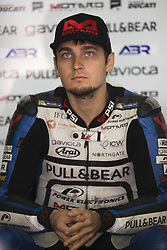 September 23, 2017 - AlcañIz, Teruel, Spain - 17 Karel Abraham (Czech) Pull&Bear Aspar Team Ducati in the free practice of the Gran Premio Movistar de Aragon, Circuit of Motorland, Alcañiz, Spain. Saturday, 23rd september, 2017. (Credit Image: © Jose Breton/NurPhoto via ZUMA Press)