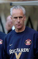Photo. Glyn Thomas, Digitalsport<br /> NORWAY ONLY<br /> <br /> Sunderland v Crystal Palace. <br /> Division 1 Playoffs, second leg. 17/05/2004.<br /> Sunderland manager Mick McCarthy prepares for his side's most important game of the season.