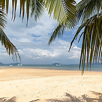 Mae Mai Bay seen from the Blue Sky Resort.