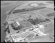 "Ackroyd 15540-11 ""Port of Portland. Aerials at Rivergate. August 30, 1968"" Oregon Steel Mills."