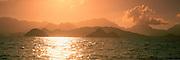 Sunset, Lanikai, Windward Oahu, Oahu, Hawaii, USA<br />