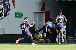 August 19, 2018 - Toulouse, France - Joie but Mathieu Dossevi  (Credit Image: © Panoramic via ZUMA Press)