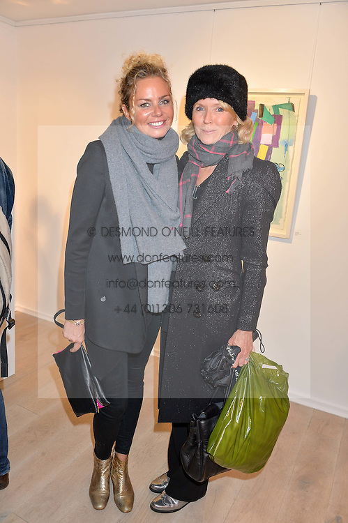 Left to right, ALEXIS HARGREAVES and VANESSA ANSTRUTHER-GOUGH-CALTHORPE at a private view entitled Stop Making Sense featuring work by Georgiana Anstruther and Carol Corell held at Lacey Contemporary, 8 Clarendon Cross, London on 9th March 2016.