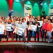 NLD/Hilversum/20121207 - Skyradio Christmas Tree, alle deelnemers