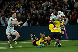 January 8, 2018 - Nanterre, Hauts de Seine, France - Racing Metro 92 Flanker LEONE NAKARAWA in action during the French rugby championship Top 14 match between Racing Metro 92 and Clermont at U Arena Stadium in Nanterre - France..Racing won 58-6 (Credit Image: © Pierre Stevenin via ZUMA Wire)