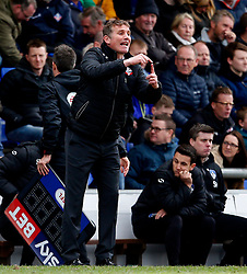 Bolton Wanderers manager Phil Parkinson shouts instructions - Mandatory by-line: Matt McNulty/JMP - 15/04/2017 - FOOTBALL - Boundary Park - Oldham, England - Oldham Athletic v Bolton Wanderers - Sky Bet League 1