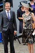 Prinsjesdag 2014 - Aankomst Politici op het Binnenhof.<br /> <br /> Op de foto:  Alexander Pechtold