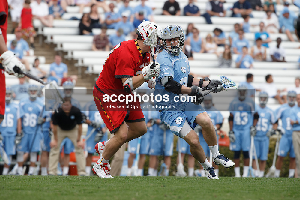 CHAPEL HILL, NC - MARCH 22: Patrick Kelly #2 of the North Carolina Tar Heels during a game against the Maryland Terrapins on March 22, 2014 at Kenan Stadium in Chapel Hill, North Carolina. North Carolina won 11-8. (Photo by Peyton Williams/Inside Lacrosse)
