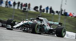 October 19, 2018 - Austin, Texas, U.S - 44 ''LEWIS HAMILTON'' Mercedes AMG Petronas Motorsports after turn 11. (Credit Image: © Hoss McBain/ZUMA Wire)