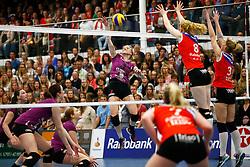 20150425 NED: Eredivisie VC Sneek - Eurosped, Sneek<br />Antoinette Posthuma (3) of Eurosped<br />©2015-FotoHoogendoorn.nl / Pim Waslander