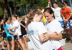 "Kids during Handball Summer Camp named ""Rokometni tabor Urosa Zormana 2013"" on June 29, 2013 in Savudrija, Croatia. (Photo by Vid Ponikvar / Sportida.com)"
