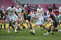 Rugby Union - 2020 / 2021 Gallagher Premiership - Round 12 - Harlequins vs Northampton Saints - The Stoop<br /> <br /> Northampton Saints' George Furbank in action during this afternoon's game.<br /> <br /> COLORSPORT/ASHLEY WESTERN