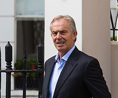 2017-07-06 Former PM Tony Blair on day Chilcot criticises him for 'not being straight' about Iraq