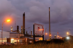 The Petroplus Holdings AG oil refinery, at the Port of Antwerp, in Antwerp, Belgium, Friday, Jan. 6, 2012. (Photo © Jock Fistick)