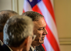 US secretary of state visits Greece, Athens, 5 October 2019