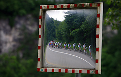 Riders in last 4th stage of the 15th Tour de Slovenie from Celje to Novo mesto (157 km), on June 14,2008, Slovenia. (Photo by Vid Ponikvar / Sportal Images)/ Sportida)