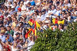 Belgian supporters<br /> European Championship Riesenbeck 2021<br /> © Hippo Foto - Dirk Caremans<br />  03/09/2021