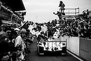 June 8-14, 2015: 24 hours of Le Mans - #19 PORSCHE TEAM, PORSCHE 919 HYBRID, Nico HULKENBERG, Earl BAMBER, Nick TANDY