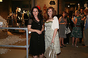 Amanda Drewe and Katherine Tate, M and S private preview. No 1 Covent Garden Piazza. 24 May 2007.  -DO NOT ARCHIVE-© Copyright Photograph by Dafydd Jones. 248 Clapham Rd. London SW9 0PZ. Tel 0207 820 0771. www.dafjones.com.