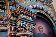 Białowieża. Unikatowy porcelanowy ikonostas w cerkwi