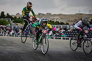 Cruiser - 12 & Under Men #12 (BOSCHEN Hunter) AUS at the 2018 UCI BMX World Championships in Baku, Azerbaijan.