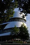 Koning Willem Alexander en Koningin Maxima bezoeken Stuttgart<br /> <br /> King Willem Alexander and Queen Maxima in Germany / Stuttgart.<br /> <br /> Op de foto / n the photo: <br />  Koning Willem Alexander en Koningin Maxima bezoeken het Mercedes Benz Museum ontworpen door het Nederlandse architektenbureau UN Studio<br /> <br /> King Willem Alexander and Maxima Queen visit the Mercedes Benz Museum, designed by Dutch architects UN Studio
