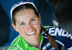 Blaza Klemencic after the Cross Country XC Mountain bike race for Slovenian National Championship in Kamnik, on July 12, 2015 in Kamnik,  Slovenia. Photo by Vid Ponikvar / Sportida
