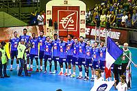 Joueurs Equipe de France - 03.05.2015 - France / Macedoine - Qualifications Championnats d'Europe -Toulouse<br />Photo : Manuel Blondeau / Icon Sport