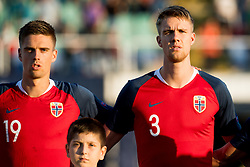 September 9, 2018 - Sofia, BULGARIA - 180909 Markus Henriksen and Kristoffer Ajer of Norway ahead of the Nations League match between Bulgaria and Norway on September 9, 2018 in Sofia..Photo: Jon Olav Nesvold / BILDBYRN / kod JE / 160311 (Credit Image: © Jon Olav Nesvold/Bildbyran via ZUMA Press)