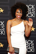 April 1, 2016- Newark, NJ: United States- Actress Vicky Jeudy attends the 2016 Black Girls Rock Red Carpet Arrivals held at NJPAC on April 1, 2016 in Newark, New Jersey. Black Girls Rock! is an annual award show, founded by DJ Beverly Bond, that honors and promotes women of color in different fields involving music, entertainment, medicine, entrepreneurship and visionary aspects.   (Terrence Jennings/terrencejennings.com)