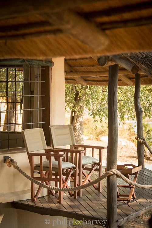 Safari lodge in South Luangwa National Park, Zambia
