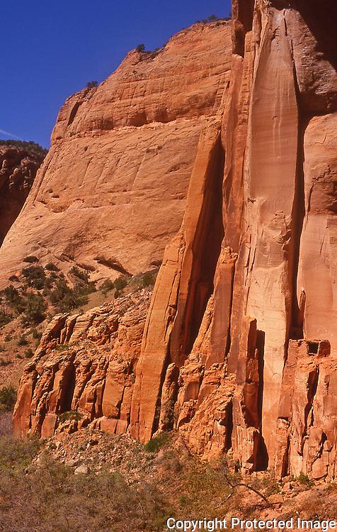 Betatakin cliff dwellings in Navajo National Monument Arizona