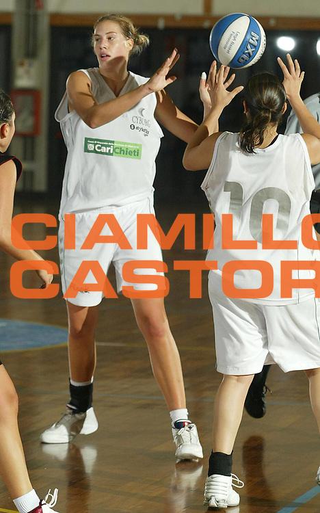 DESCRIZIONE : LA SPEZIA CAMPIONATO ITALIANO DI BASKET FEMMINILE LEGA A1 2004-2005<br />GIOCATORE : REJCHOVA<br />SQUADRA : CARICHIETI CHIETI<br />EVENTO : CAMPIONATO ITALIANO BASKET FEMMINILE LEGA A1 2004-2005<br />GARA : UMANA VENEZIA-CARICHIETI CHIETI<br />DATA : 17/10/2004<br />CATEGORIA : <br />SPORT : Pallacanestro<br />AUTORE : Agenzia Ciamillo-Castoria/S.Derrico