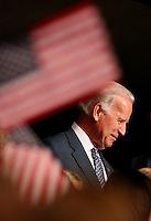 Joe Biden addresses the Democratic National Convention in Denver, Colorado, Sunday, August 24, 2008.