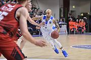 DESCRIZIONE : Eurocup 2015-2016 Last 32 Group N Dinamo Banco di Sardegna Sassari - Cai Zaragoza<br /> GIOCATORE : David Logan<br /> CATEGORIA : Palleggio Penetrazione<br /> SQUADRA : Dinamo Banco di Sardegna Sassari<br /> EVENTO : Eurocup 2015-2016<br /> GARA : Dinamo Banco di Sardegna Sassari - Cai Zaragoza<br /> DATA : 27/01/2016<br /> SPORT : Pallacanestro <br /> AUTORE : Agenzia Ciamillo-Castoria/L.Canu