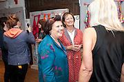SUSY MENKES; LADY RACHEL BILLINGTON, Hermes pour Liberty collaboration launch party. Liberty.  London. 7 September 2009.