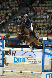 Wulschner Holger, (GER), BSC Cha Cha Cha<br /> DKB-Riders Tour<br /> Grand Prix Kreditbank Jumping München 2015<br /> © Hippo Foto - Stefan Lafrentz
