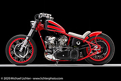 Arlin Fatland's Lucky Strike, built in 1995, Knucklehead. Photographed by Michael Lichter in Sturgis, SD. August 1, 2020. ©2020 Michael Lichter