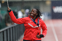 Olympic Trials Eugene 2012: Hammer Throw Olympic team member Amber Campbell