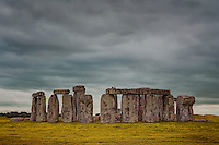Stonehenge is a prehistoric monument in Wiltshire, England. One of the most famous sites in the world, Stonehenge is the remains of a ring of standing stones set within earthworks. Archaeologists believe it was built anywhere from 3000 BC to 2000 BC.