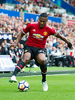 Football - 2017 / 2018 Premier League - Swansea City vs. Manchester United<br /> <br /> —<br /> , at Liberty Stadium.<br /> <br /> COLORSPORT/WINSTON BYNORTH