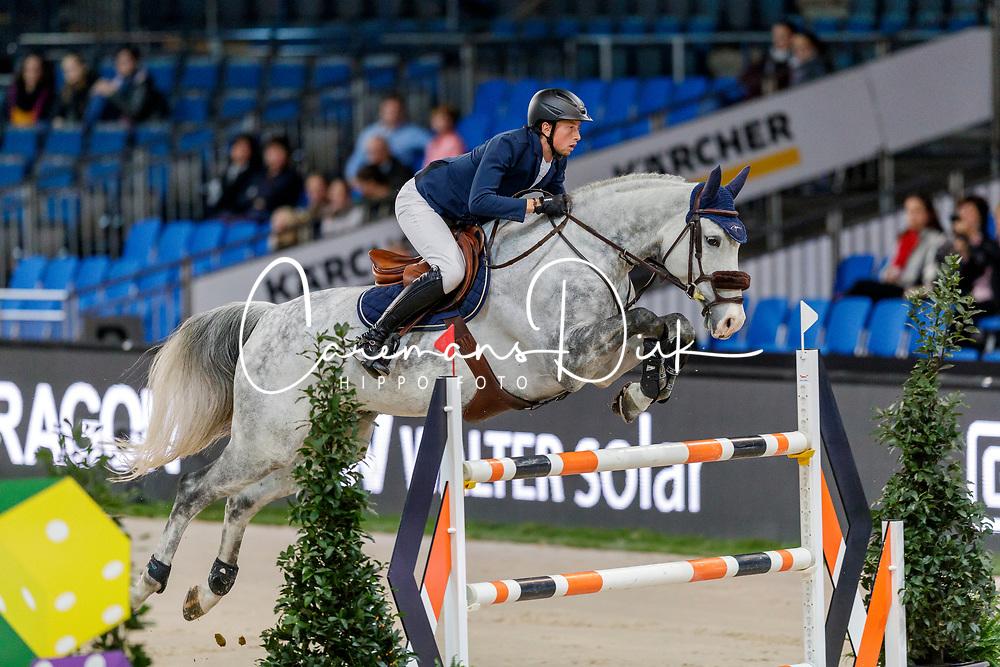 Fuchs Martin, SUI, Silver Shine<br /> Stuttgart - German Masters 2019<br /> © Hippo Foto - Stefan Lafrentz<br /> 14/11/2019
