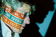 Roger Daltrey CBE leads a global campaign to help young people fight cancer.  In tandem with the Teenage Cancer Trust  he launched and signed an International Charter of Rights for Young People with Cancer.  The Royal Society of Medecine, London - Guy Bell Photography, GBPhotos.com