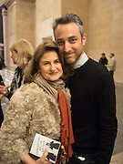 JILL RITBLAT; PABLO BRONSTEIN Historical Dances in an  antique setting., Pable Bronstein. Annual Tate Britain Duveens commission.  London. 25 April 2016