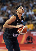 NANJING,CHINA:SEPTEMBER 5th 2019.FIBA World Cup Basketball 2019 Group phase match.Group F. New Zealand vs Greece .Point Guard Tai WEBSTER<br /> Photo by Jayne Russell / www.PhotoSport.nz