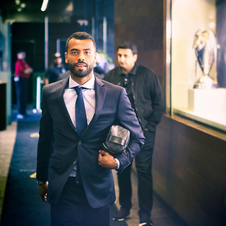 Ashley Cole. Photos taken in the summer of 2018 for the LA Galaxy home games against D.C. United, Minnesote United, Colorado Rapids and LAFC. Working with head photographer Rob Mora. Major League Soccer. ©justinalexanderbartels.com